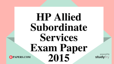 HP Allied Subordinate Services