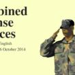 CDS English Exam Paper - 26 October 2014