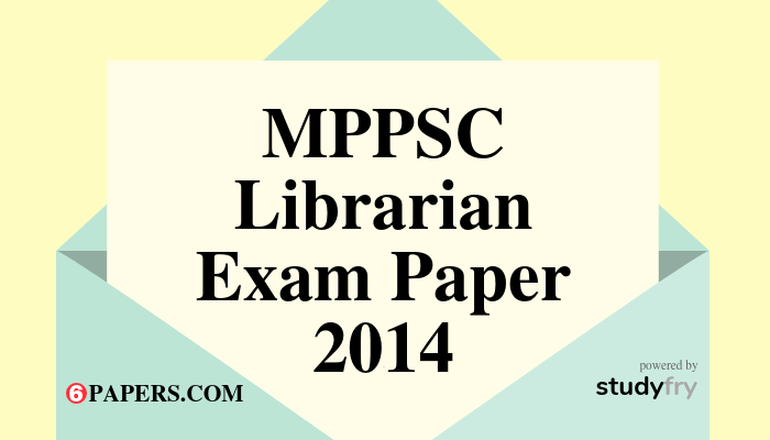 MP Librarian Exam Paper with Answer key