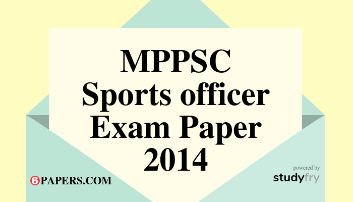 MP Sports officer Exam Paper 18-08-2018 (with Answer key)
